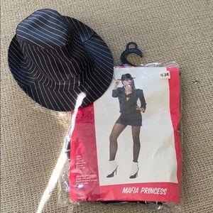 Mafia princess Halloween costume